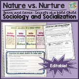 Nature vs. Nurture and Genie Guided Viewing for Sociology and Psychology