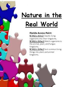 Nature walk - living vs non living