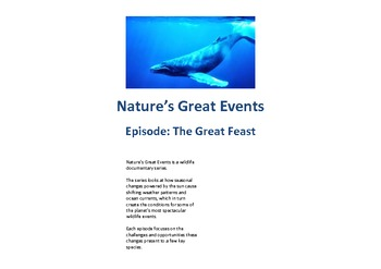 Nature's Great Events– The Great Feast Documentary – Focus: Migration