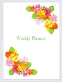 Natures Weekly Planner