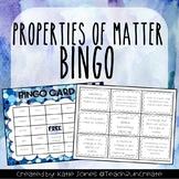 Properties of Matter Bingo