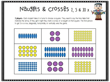 Math Center - Multiplication Game
