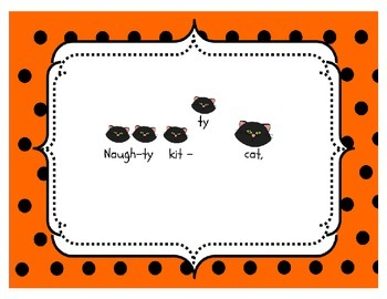 Naughty Kitty Cat (Halloween Colors): A song for ta rest and la