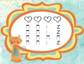 Naughty Kitty Cat {Slideshow to practice quarter rest}