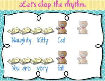 Naughty Kitty Cat {Ta Rest} Kodaly Method Folk Song File