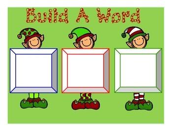 Naughty & Nice (A Christmas Nonsense Word Dice Game)
