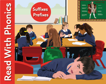 Naughty Nigel: Learn Suffixes And Prefixes (Learn To Read With Phonics)
