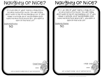 Naughty or Nice? A Multiplication Game for Difficult Facts
