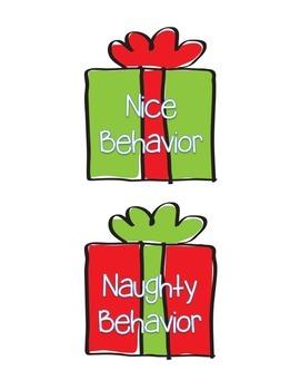 Naughty or Nice Behavior: Opening Presents