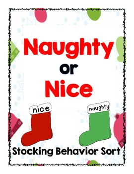 Naughty or Nice Behavior Sort