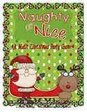 Naughty or Nice Christmas Party Math Game