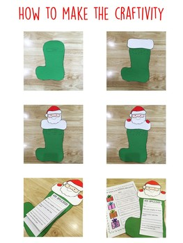 Naughty or Nice Craftivity and Printables- Letter to Santa
