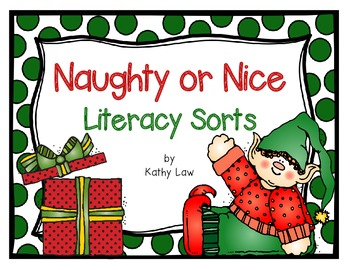 Naughty or Nice - Literacy Sorts