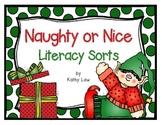 Naughty or Nice - Literacy Sorts