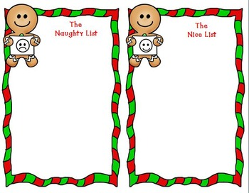 Naughty or Nice?  Christmas Math Sorts