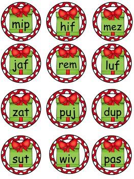 Christmas Nonsense Words Naughty or Nice