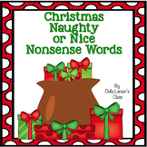 Christmas Nonsense Words Naughty or Nice