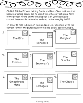 Naughty or Nice Plurals: Pluralizing Proper Nouns