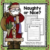 Naughty or Nice - Writing a Friendly Letter to Santa (FREE)