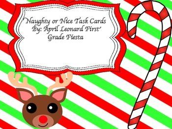 Naughty or Nice task cards