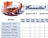 "Naumachia for Latin nouns- ""Battleship""-style review game"