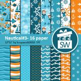 Nautical  backgrpund paper