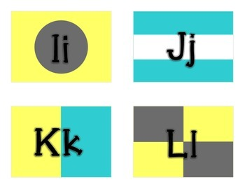 Nautical Alphabet