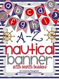 Nautical Alphabet Banner