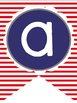 Nautical Alphabet Banner
