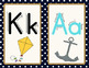 Nautical Alphabet Cards