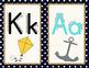 Nautical Alphabet Cards