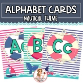 Nautical Alphabet Cards | Posters