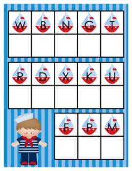 Nautical Alphabet Matching Activity