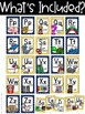 Nautical Alphabet Posters - Blue and Yellow - Nautical Classroom Decor
