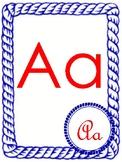 Nautical Alphabet Word Wall