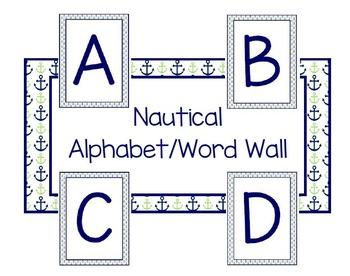 Nautical Alphabet/Word Wall