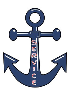 Nautical/Anchor Core Value Signs
