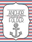 Nautical Anchor Folder