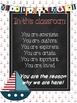 Nautical Anchor Themed Classroom Motivational Poster Set