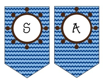 Nautical Back to School Banner