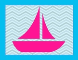 Nautical Background Poster - Editable