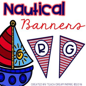 Nautical Banners (Editable)