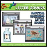 Nautical Beginning Letter Sounds Interactive ELA Digital G