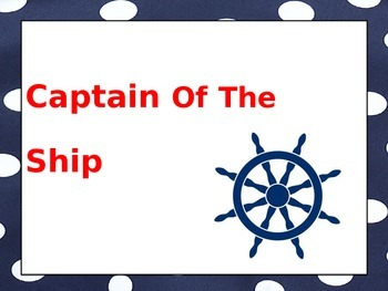 Nautical Behavior Chart