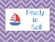Nautical Behavior Clip Chart and Classroom Coupon Reward Set