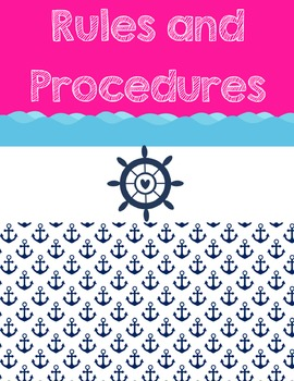 Nautical Binder Cover {Confetti and Creativity Clip Art}