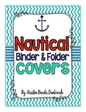 Nautical Binder Covers (EDITABLE!)