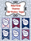 Nautical Birthday Tags