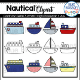 Nautical Boats Clipart