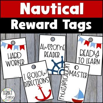 Nautical Theme Brag Tags